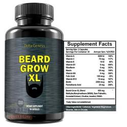 Beard Grow XL vitamin mọc râu nhanh