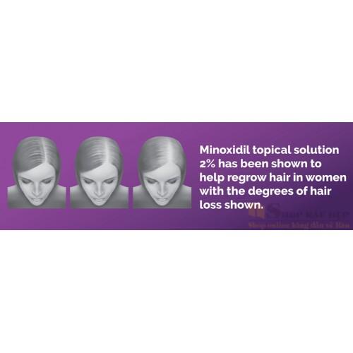 Dung Dịch Mọc Tóc Basic Care Minoxidil 2% Dạng Lỏng - Nữ