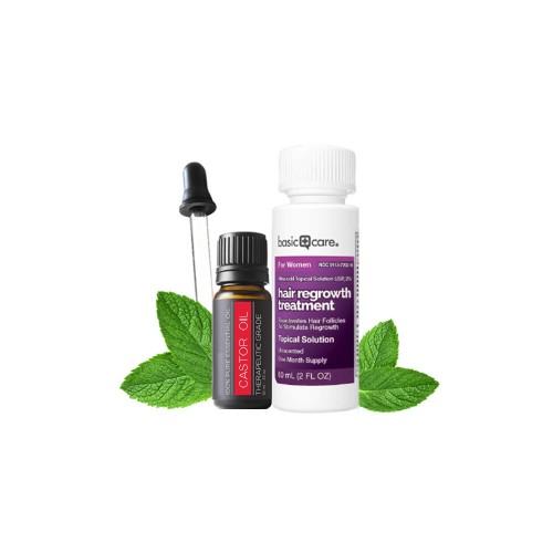 Thuốc Mọc Lông Mày Minoxidil 2% Cho Nữ - Combo Nu1